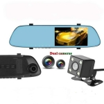 Anytek T22 Car Camera 5 inch IPS Touch-Screen Dual Lens FHD 1080P Car DVR Camera