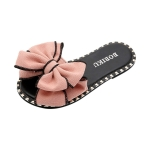 Fashion Wild Comfortable Breathable Slippers for Women, Size:33(Pink)