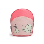 Waterproof Baby Diaper Bag Insulated Breast Milk Cooler Bag Fashion Mommy Travel Bag Portable Bottle Stroller Hanging Bag(Pink + elephant)