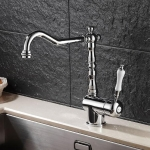 Kitchen Bathroom Faucet Hot and Cold Faucet Taps Sink Without Hose