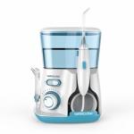 Waterpulse V300 800ml Oral Irrigator Dental Flosser Oral Hygiene Water Flossing Cleaner, Plug Type:US(Green)