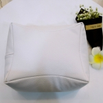 Nail Art Hand Rest Cushion Pillow Soft PU Leather Foot Hand Holder Manicure Nail Art Equipment(White)