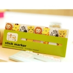 2 PCS Mini Cute Cartoon Animals Memo Pad Sticky Notes Notebook Stationery Note Paper Stickers School Supplies Owl