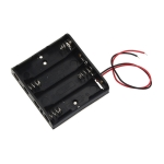 10 PCS AA Size Power Battery Storage Case Box Holder For 4 x AA Batteries without cover