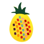 DIY  Handmade Non-woven Crafts Toy Teaching Baby Educational Toys for Children(Pineapple)