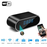 1080P HD H.264 WiFi Table Clock Mini Camera Camcorder Alarm Set without Memory Card, Support Night Vision, Motion Detection