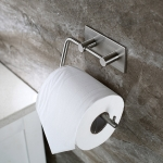 RD9181 304 Stainless Steel Self-Adhesive Tissue Rack Toilet Paper Roll Holder Hangers