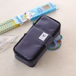 Multifunction School Pencil Case Bags Boys Large Capacity Pen Curtain Box Kids Gift(Gray)