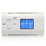Gas Sensor Carbon Monoxide Poisoning Warning LCD Carbon Alarm Detector