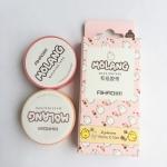2 PCS Creative Animal Pet Rabbit Tape Adhesive Tape DIY Scrapbooking Sticker Label Craft Masking Tape(Pink)