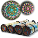 Kaleidoscope Colorful Toy Kids Children Birthday Educational For Children Gifts Length: 30cm, Color Random Delivery