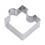 2 PCS Stainless Steel Biscuit Mold Popular Cute Puzzle Shape DIY Shantou Mold Cookie Cutting Mold