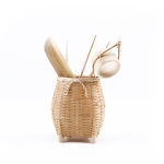 Handmade Bamboo Weaving Kongfu Tea Set Accessories