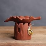 Creative Purple Sand Tea Leak Tea Strainer Tea Ceremony Accessories  (PJ180730-2)