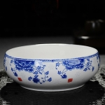 Blue and White Jade Tea Wash Ceramic Tea Wash Tea Accessories