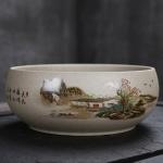 Creative Vintage Stoneware Ceramic Tea Wash Tea Accessories  (1)