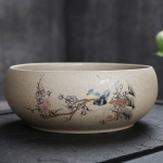 Creative Vintage Stoneware Ceramic Tea Wash Tea Accessories (3)