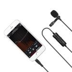 MC-M1 Lavalier Omnidirectional Capacitance Recording Video Microphone, Length: 6m