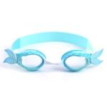 YG-1718 Children Cartoon Silicone Swimming Glasses (Black)