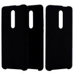 Solid Color Liquid Silicone Dropproof Protective Case for Xiaomi Redmi K20 (Black)
