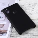 Solid Color Liquid Silicone Dropproof Protective Case for Xiaomi Mi Mix 2S (Black)