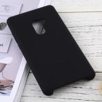 Solid Color Liquid Silicone Dropproof Protective Case for Xiaomi Mi Mix 2 (Black)