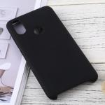 Solid Color Liquid Silicone Dropproof Protective Case for Xiaomi Mi 6X (Black)