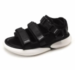 Youth Trend Comfortable and Wearable Casual Sandals for Women (Color:Black Size:37)