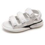 Youth Trend Comfortable and Wearable Casual Sandals for Women (Color:White Size:39)