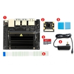 Waveshare NVIDIA Jetson Nano Developer Kit Package B, with Camera, TF Card