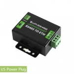 Waveshare RS485 to Ethernet Converter, US Plug