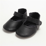 Lightweight Non-slip Wearable Baby Toddler Shoes (Color:Black Size:13cm)