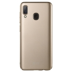 Lenuo Leshield Series Ultra-thin PC Case for Galaxy A20e (Gold)