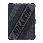 NILLKIN Bumper Horizontal Flip Leather Case for iPad 9.7 (2018) & iPad Pro 9.7 & iPad 9.7 inch (2017) & iPad Air 2 & iPad Air, with Pen Slot & Holder (Black)