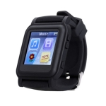 Q998 4GB MP4 E-book Privacy Reading Smart Watch, Support Time Display / Music & Video Playing / Picture Browsing / Stopwatch(Black)