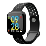 F15 1.3 inch TFT IPS Color Screen Smart Bracelet, Support Call Reminder/ Heart Rate Monitoring /Blood Pressure Monitoring/ Sleep Monitoring/Blood Oxygen Monitoring (Black)