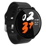 K9 1.22 inch Color Screen TPU Watchband Smart Bracelet, Support Call Reminder/ Heart Rate Monitoring /Blood Pressure Monitoring/ Sleep Monitoring/Blood Oxygen Monitoring (Black)