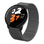 K9 1.22 inch Color Screen Steel Watchband Smart Bracelet, Support Call Reminder/ Heart Rate Monitoring /Blood Pressure Monitoring/ Sleep Monitoring/Blood Oxygen Monitoring (Black)