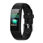 Y10 0.96 inch TFT Color Screen IP67 Waterproof Smart Bracelet, Support Call Reminder/ Heart Rate Monitoring /Blood Pressure Monitoring/ Sleep Monitoring/Blood Oxygen Monitoring (Black)