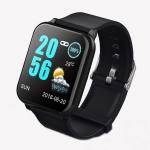 Z02 1.3 inch TFT Color Screen IP67 Waterproof Smart Bracelet, Support Call Reminder/ Heart Rate Monitoring /Blood Pressure Monitoring/ Sleep Monitoring/Blood Oxygen Monitoring (Black)