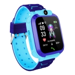 Q12 1.44 inch Color Screen Smartwatch for Children IP67 Waterproof, Support LBS Positioning / Two-way Dialing / One-key First-aid / Voice Monitoring / Setracker APP(Blue)