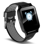 Y60 1.54 inch IPS Screen Bluetooth Smart Watch, Support Heart Rate Monitor / Sleep Monitoring / Calling Remind (Black)