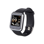 B11 1.3 inch TFT Screen Smart Bluetooth Bracelet, Support Call Reminder / Heart Rate Monitoring / Blood Pressure Monitoring / Sleep Monitoring (Black)