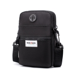 WEIXIER 8608 Multifunctional Mobile Phone Bag Outdoor Sports Sports Waist Bag Single Shoulder Bag(Black)