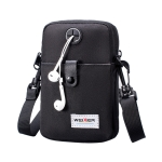 WEIXIER 8609 Multifunctional Mobile Phone Bag Outdoor Sports Sports Waist Bag Single Shoulder Bag(Black)