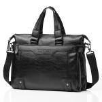 WEIXIER 15036-4 Multifunctional Men Business Handbag Computer Briefcase Single Shoulder Bag (Black)