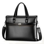 WEIXIER 16037 Multifunctional Men Business Handbag Computer Briefcase Single Shoulder Bag (Black)