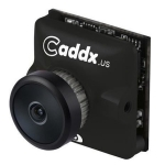 Caddx.us Turbo micro F2 Mini 1200TVL 2.1mm Lens FPV Color Camera with 1 / 3 inch CMOS Sensor, NTSC / PAL Changeable(Black)