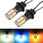 1156/BA15S DC12V 3.7W 81 SMD-3030-LEDs Three Color Car DRL&Turn Light, Length: 2m