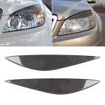 Car Carbon Fiber Light Eyebrow for Mercedes-Benz W204 Pre-Facelift 2008-2011